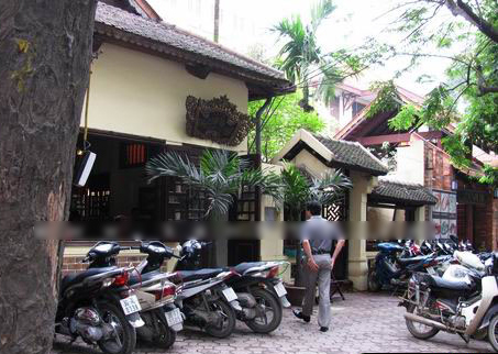 ベトナムのおかゆのお店