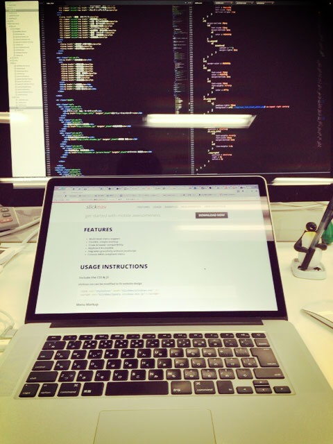 Web制作者の机