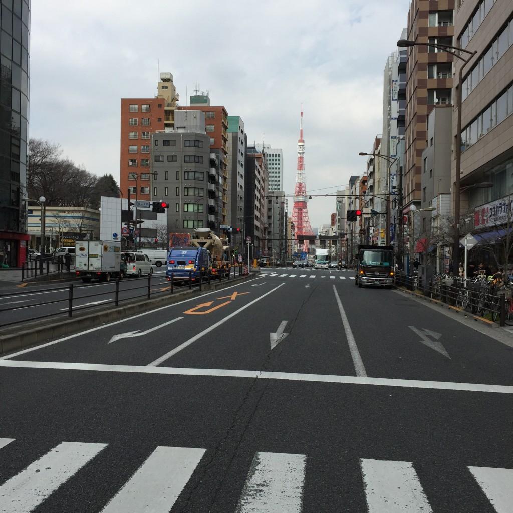 東京タワーが見えます