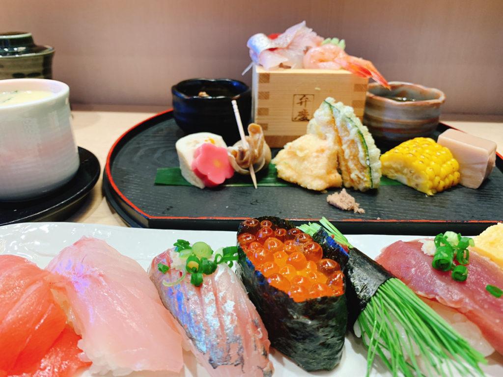 弁慶の寿司ランチ