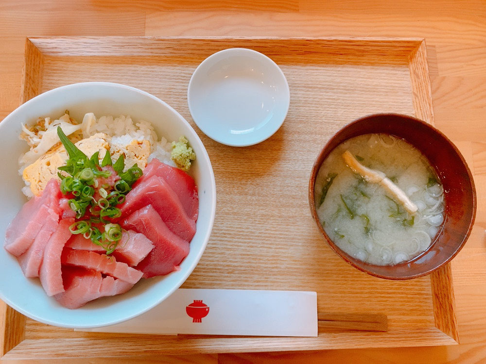 新潟の本鮪丼定食