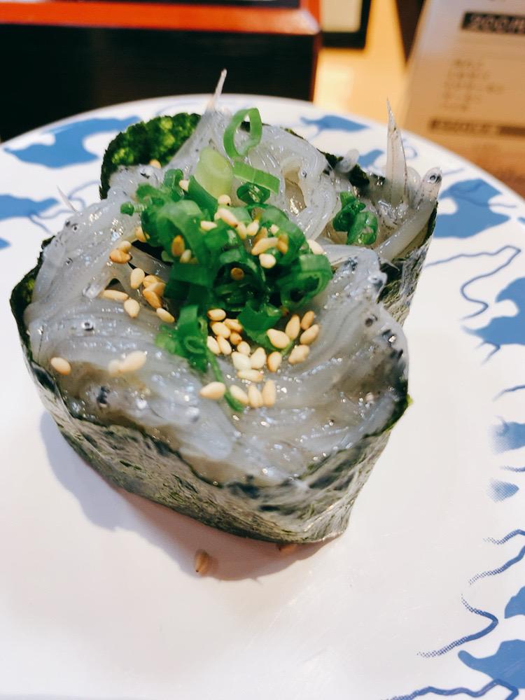 サバ美の食べる弁慶の寿司
